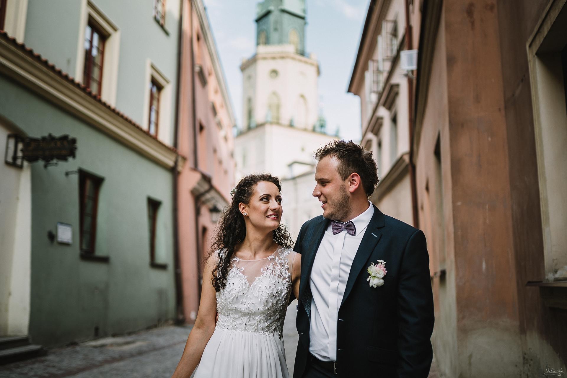 Sesja ślubna na starówce